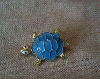 Enamel Turtle Pin