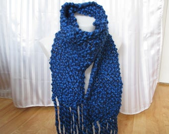 fathers day man gift blue scarf