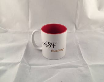 Personalised Coloured inner mug