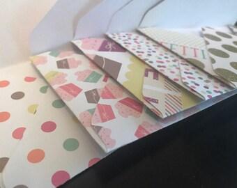 Cupcake 3x5 Envelopes