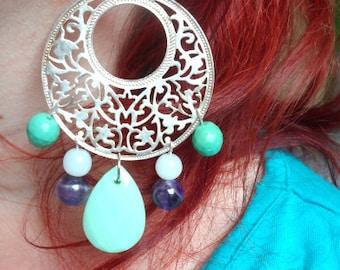 Neemrana earring filigree