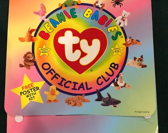 Beanie Babies Official Membership Kit - 1st Edition