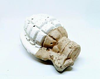 Concrete Grenade - White