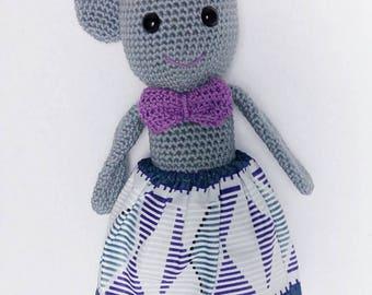 Blanket - Bunny amigurumi - crochet blanket wax
