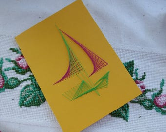 Kit with 6 cards and yellow envelopes