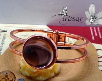 high quality, materials, Bracelet, 25mm, rose gold