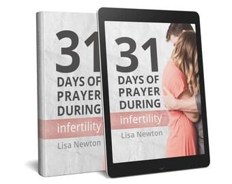 Infertility Prayer PDF eBook {31 Days of Prayer During Infertility}