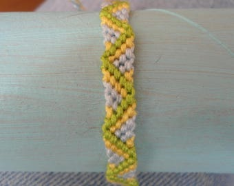 3 color ZigZag pattern Friendship Bracelet