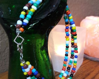 Boho beaded Anklet