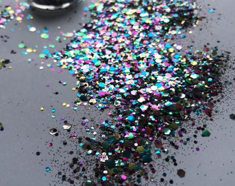 Festival Glitter Biodegradable - Dark Seas
