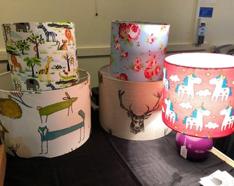 Home consultation for custom lampshades
