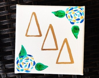 Tri Delta sorority art