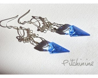 original these Crystal Spike (Swarovski pearls) for these earrings