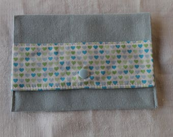 Wallet fabric pouch.