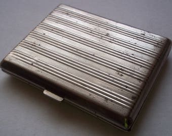 Vintage Rare Cigarette Case, Made in Latvia, 1920s-1940s