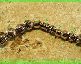 European N4 acrylic bead for bracelet charms