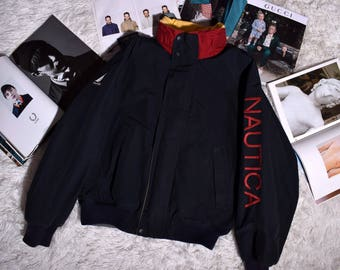 Vintage Nautica double-sided jacket