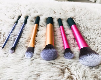 Makeup brushes - beautiful 6 piece set