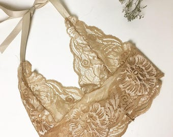 Vanilla Lace Golden Sands Bralet