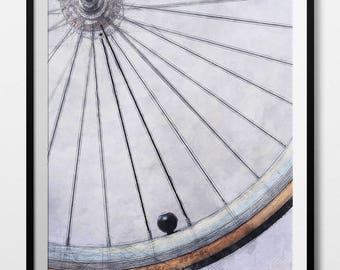 Bicycle Poster, Vintage Bicycle, Bicycle Wheel, Bicycle, Bicycle Wall Art, Road Bike, Bicycle Art Gift, Gift For Cyclist, INSTANT DOWNLOAD