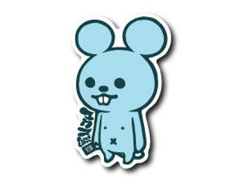 Mouse Japanese Kawaii Sticker!!