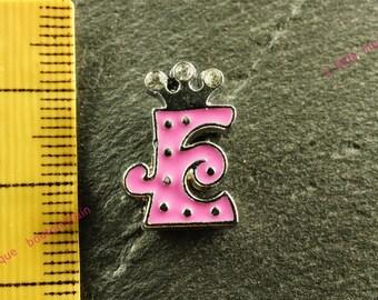 Pearl e busy N3 rhinestone Crown for bracelet
