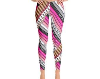 Women's Leggings | Pencil/Stationery Leggings // Gift For Her, Planner Gift, Mother's Day Gift