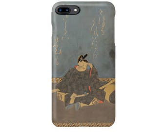 """iPhone case   """" Writing Box with Maple Leaf on the Tatsuta River"""""""