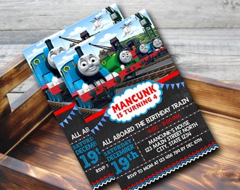 Thomas The Train Invitation,Thomas The Train Birthday,Thomas The Train Birthday Invitation,Thomas The Train Party,Thomas The Train-179