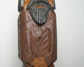 Shepard - wood carving