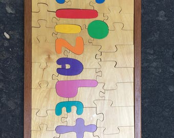 Elizabeth Handmade Puzzle