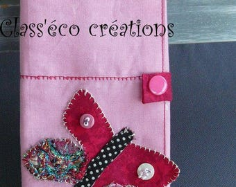 pouch for storing barrettes or jewelry