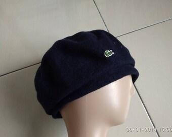 lacoste 57 cm blue good condition  accessories