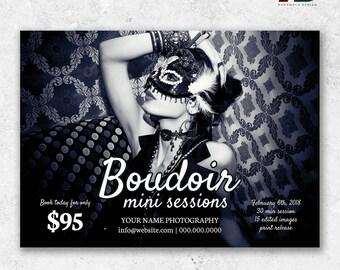 Boudoir Minis Photography Marketing Template Boudoir Mini Sessions Template Valentine Minis Boudoir Photography Mini Sessions Template