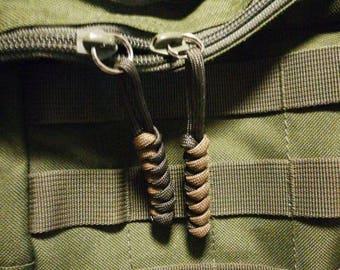 Zipper pulls Tactical (2 Pieces)