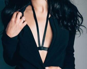 Velvet Body Harness