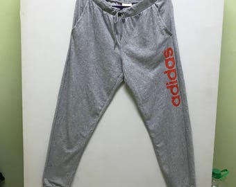 Rare!!! Adidas Neo Jogger Spellout Double Pockets
