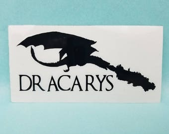 """5"""" Dracarys - Game Of Thrones Decal"""