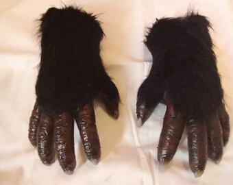 Bigfoot hands, Yeti hands,Yowie hands. Skookum hands. Abominable snowman hands.