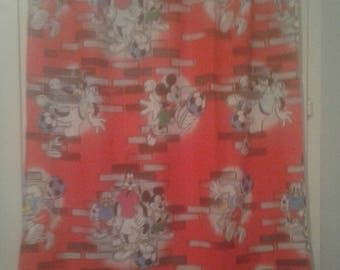 Disney Mickey curtain