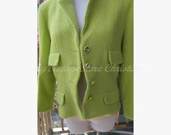 Lime Chanel jacket