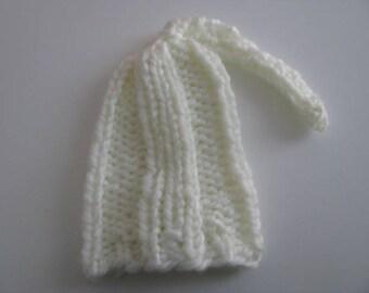 Ecru wool hat size 3 months
