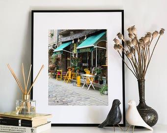 Parisian Florist, Photographic Print, 11x14