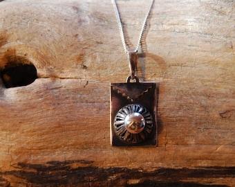 """Silver Pendant handmade and original """"Filigree del alma"""""""