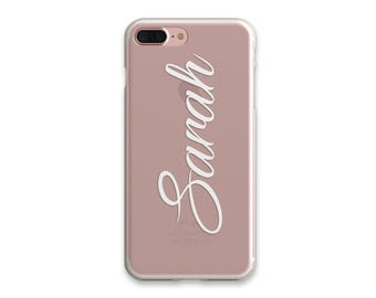 Custom Name Iphone 7 Case Personalized iPhone 7 Plus Case Personalized Iphone Cover Phone Case Tech Gifts iPhone 6 Plus Case iPhone SE Case