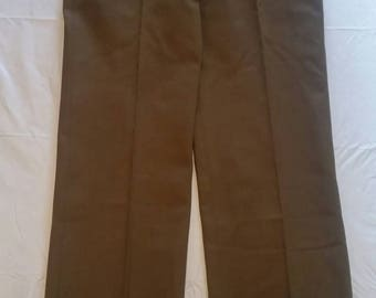 1941 WWII Army Trousers 32 × 35. Very nice.