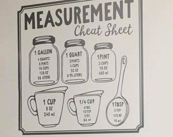 Measurement decal