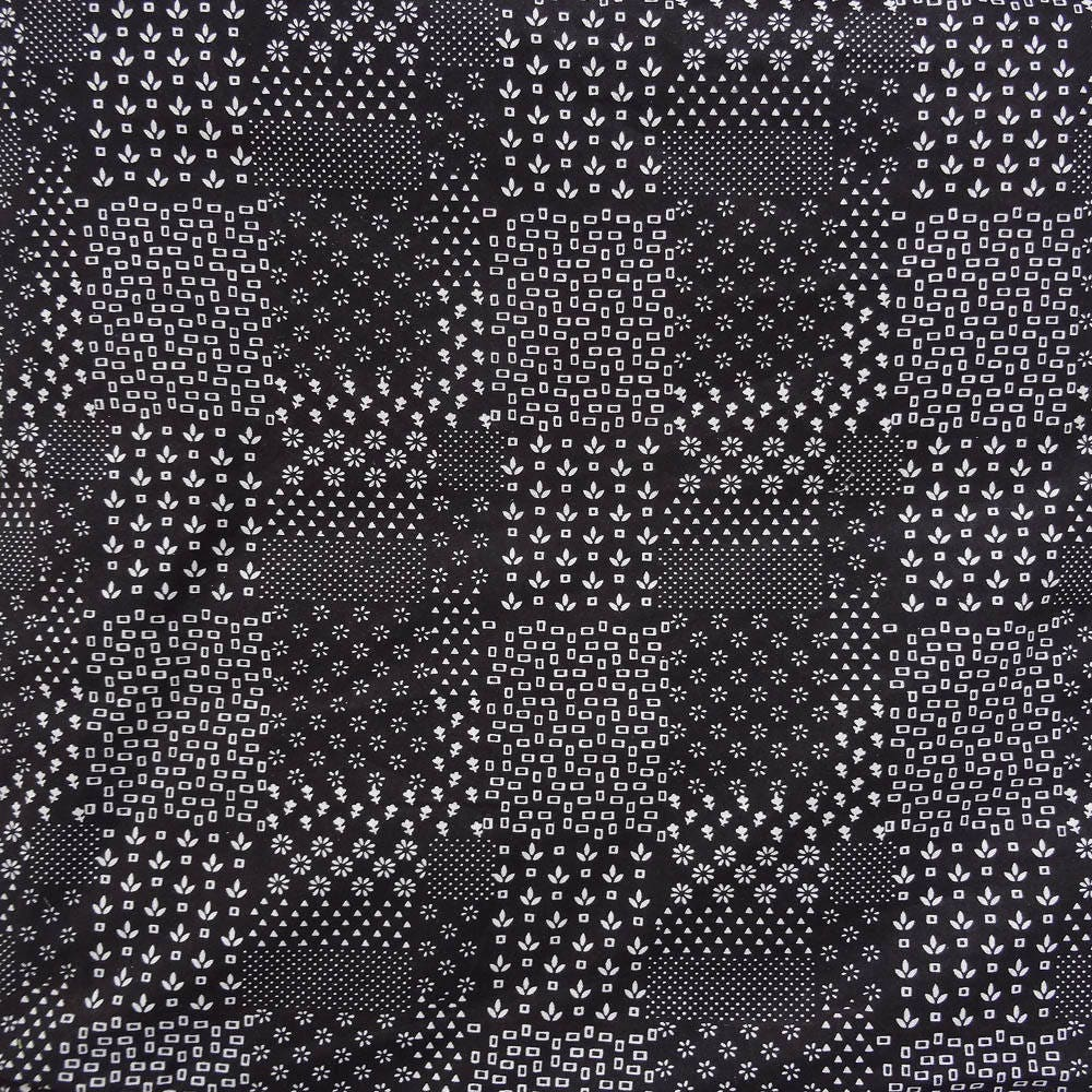 Cotton fabric by the yard collection black and white for Cotton fabric by the yard