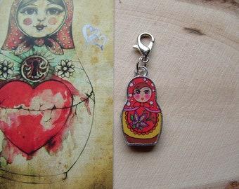 Russian Doll / Matryoshka / Babushka ~ Ready to Wear ~ Long Healthy Life for Baby / Gift / Birthday / Family / Christening / New Baby / Love