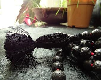 Mala Beads - Lava